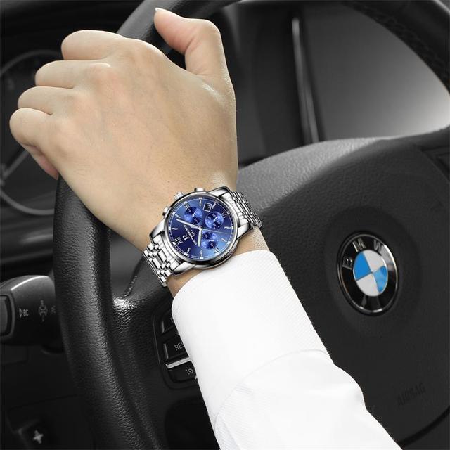 男士一定要戴手表,只选对的不选贵的,防水石英男士手表精品!