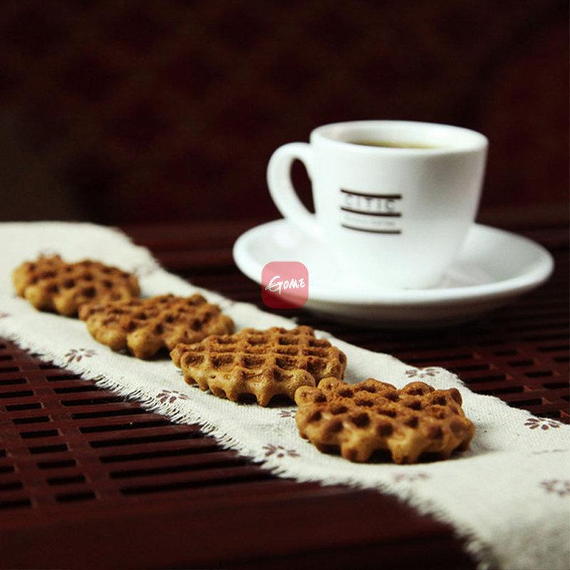 国美自营 中国台湾自然素材黑糖格子饼200g