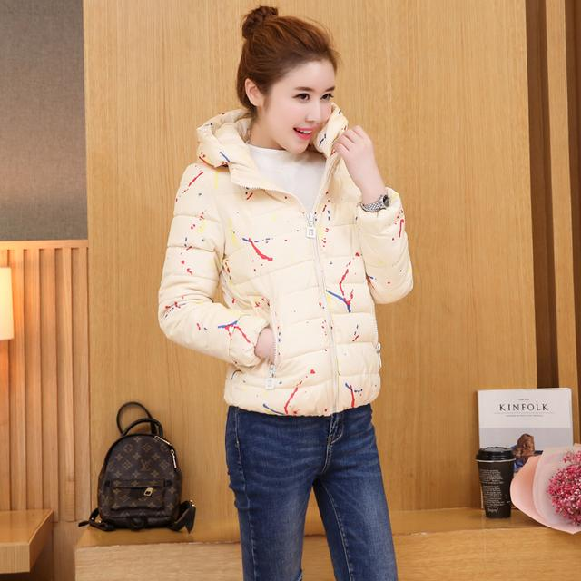 短款棉服修饰身材,带着曲线美,精致保暖又洋气