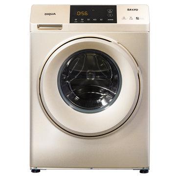 三洋(sanyo)dg-f100570be 10kg 滚筒洗衣机 变频3d机身稳定系统