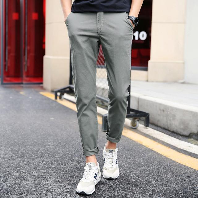 今年超流行的男士休闲裤都在这,时尚又简单,怎么穿都有型