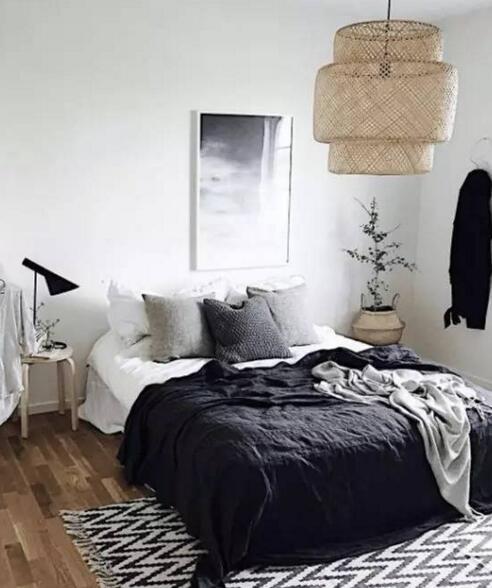 没有床头柜,床边还应该怎么布置