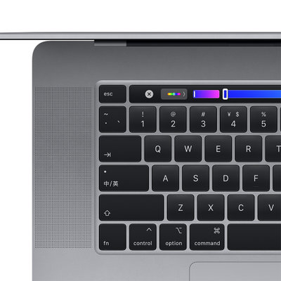 Apple MacBook Pro 16英寸 Touch Bar(六核第九代 Intel Core i7 处理器 16G内存 512G固态)深空灰色